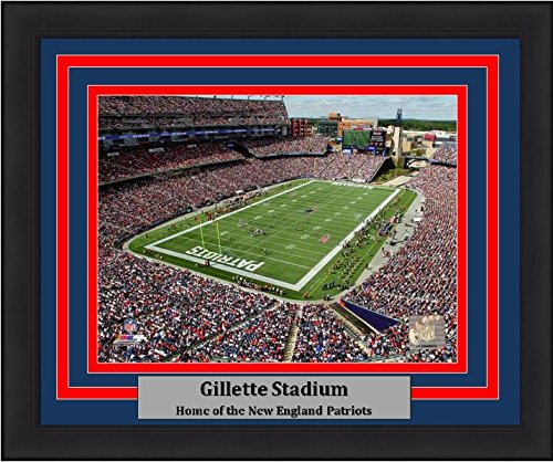 Gillette Stadium Framed - Patriots Gillette Stadium 8