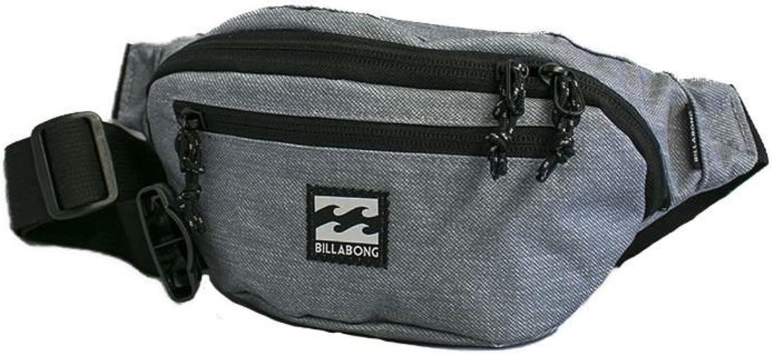 BILLABONG Java Waistpack, Bolso bandolera para Hombre, Gris (Grey Heather), 1x1x1 cm (W x H x L): Amazon.es: Zapatos y complementos