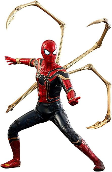 Marvel Spiderman Avengers Infinity War Iron  Spider-Man Action Figure Toy Model
