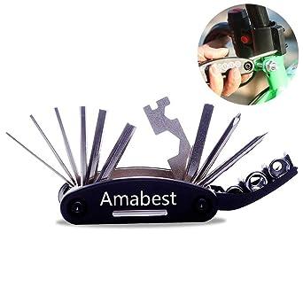 Amabest - Kit de herramientas 16 en 1 con bolsa de herramientas ...