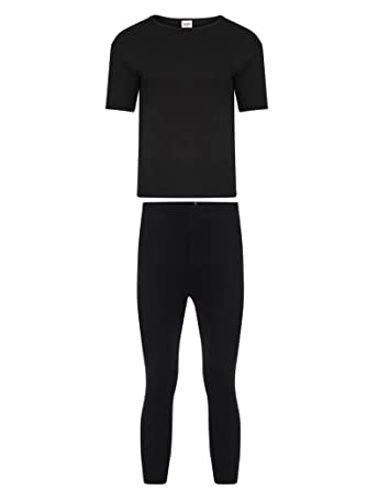 d3c15578 Mens Thermal Long Johns/Bottoms Trousers, Long Sleeve T Shirt Top longjohn  Sets Vest Underwear Perfect for Cold Winter Days: Amazon.co.uk: Clothing