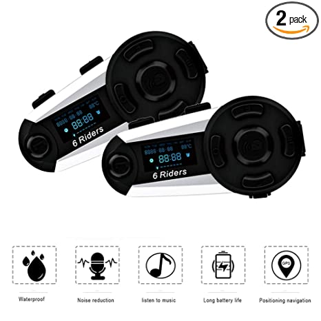Amazon.com: ESoku T20S - Interfono Bluetooth para ...