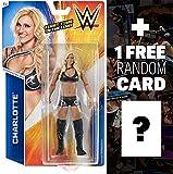 Charlotte: WWE Basic Series #67 + 1 FREE Official WWE Trading Card Bundle