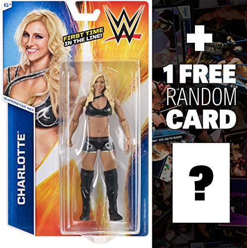 Charlotte: WWE Basic Series #67 + 1 FREE Official WWE Trading Card Bundle by WWE