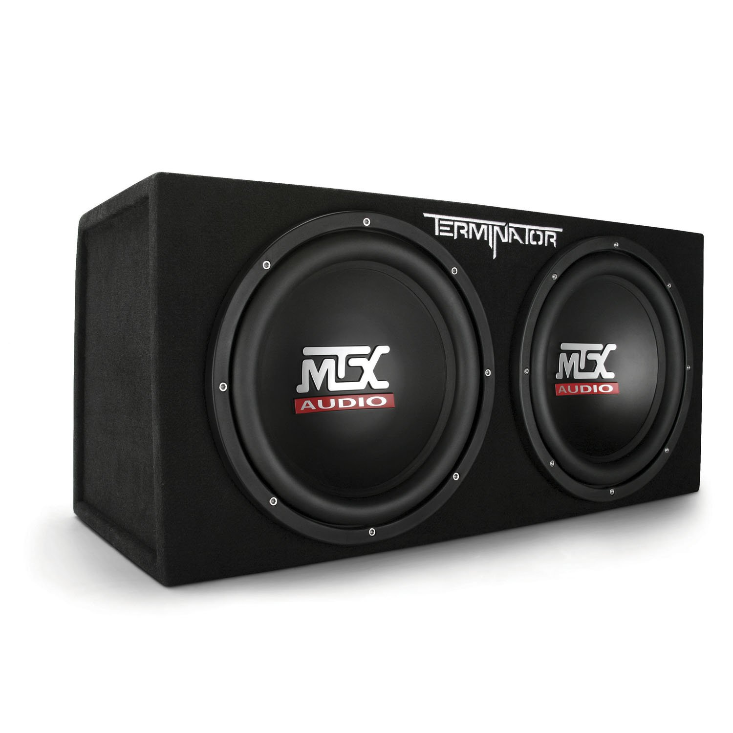 MTX Audio Terminator Series TNE212D 1,200-Watt Dual 12-Inch Sub Enclosure by MTX