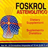Foskrol Astenolitico 20 drinkables ampoules of 10 ml
