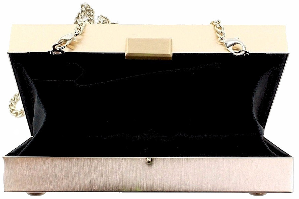 LOVE Moschino Women's Box Clutch Black Clutch by Love Moschino (Image #6)