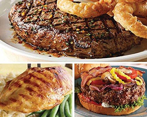 Kansas City Steaks Tour of Good Taste, 4 (10 oz) Strip Steaks, 4 (7 oz) Chicken Breasts and 8 (4 oz) Steakburgers