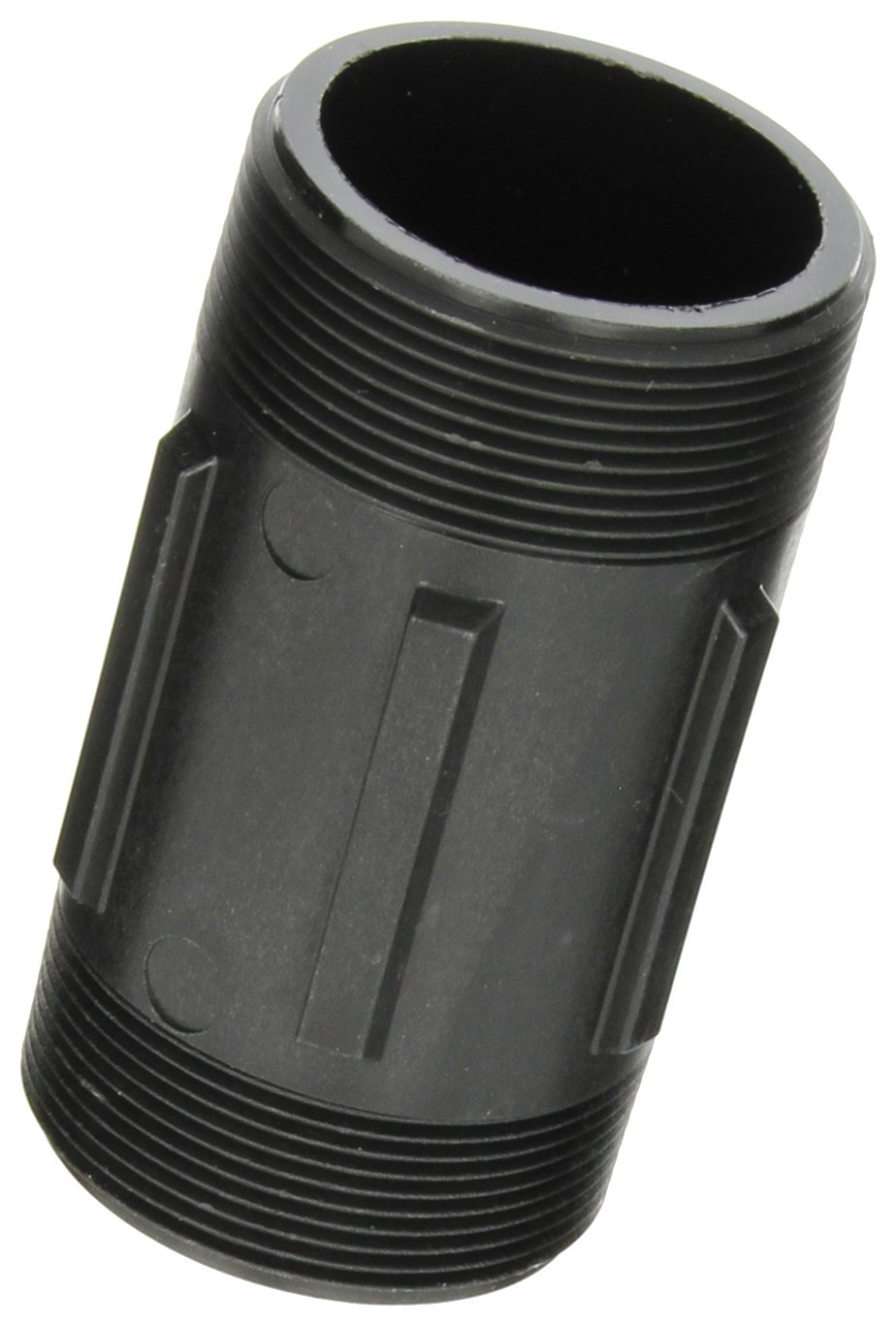 Nipple Banjo NIP200-4 Polypropylene Pipe Fitting Schedule 80 2 NPT Male x 4 Length