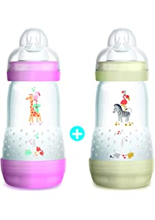 MAM Easy Start Anti-Colic Biberon 260ml - 2 Unidades (Color ...