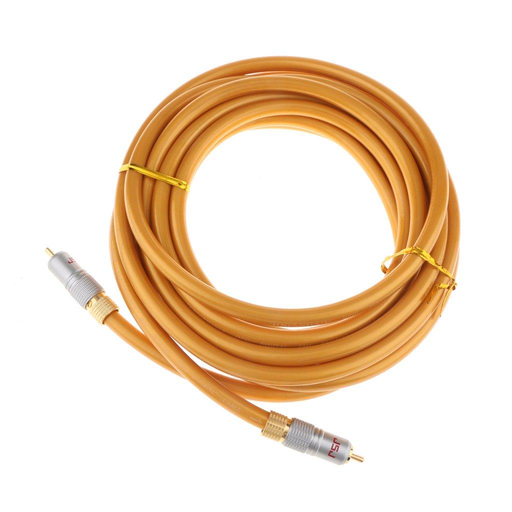 MagiDeal Cable de Video Compuesto Digital RCA Coaxial CA A Conectores Macho RCA Cable Herramientas: Amazon.es: Electrónica