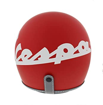 Amazon.es: Casco para Vespa, color rojo