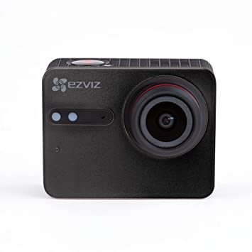 EZVIZ S5 Plus Cámara de Acción 4K Cámara Deportiva, 12MP, Carcasa Resistente al Agua, Banda Dual, Bluetooth 4.0 BLE, Micrófono dual, Procesador de ...