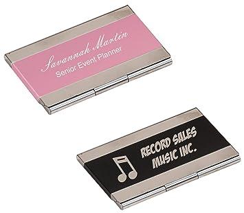 Amazon custom personalized engraved business card holder custom personalized engraved business card holder brand new colourmoves