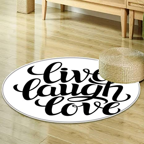 carpet oval office inspirational decor round area rug carpet live laugh love decor simplistic inspiration quote minimalist featured typography design black amazoncom
