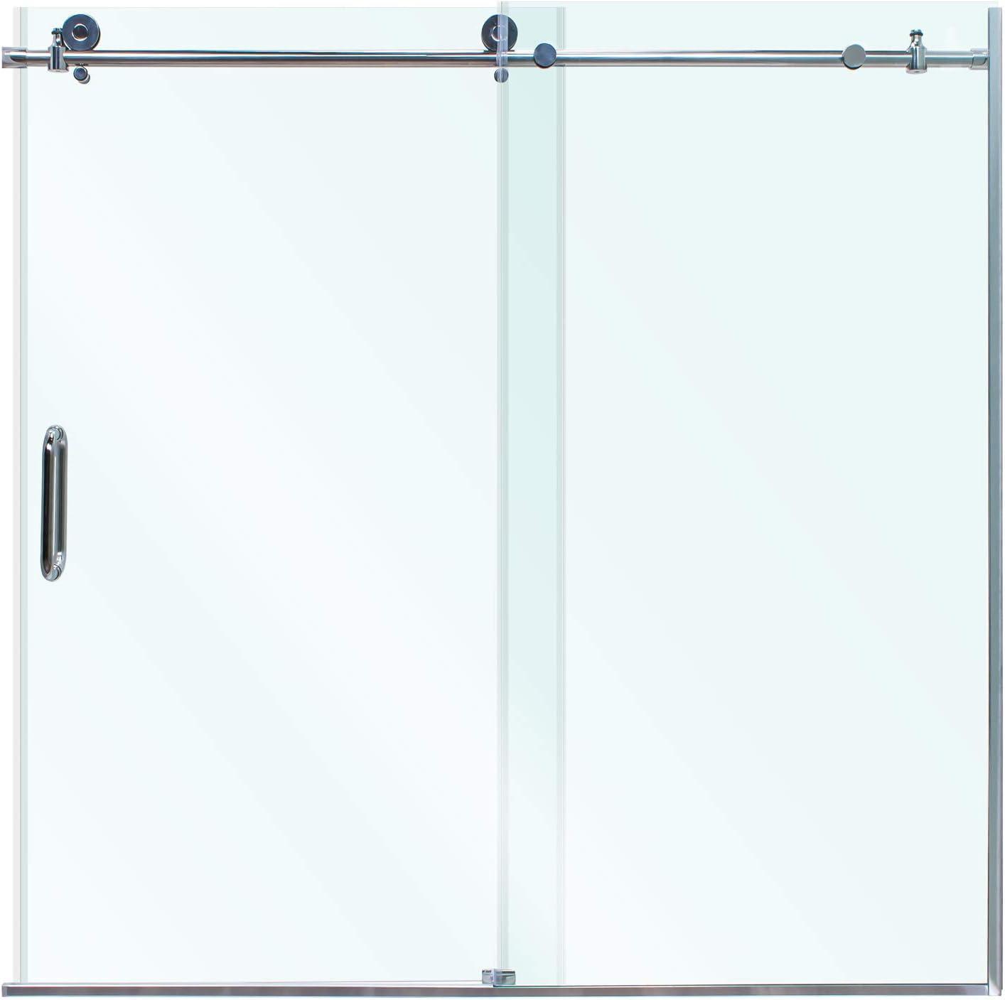 Miseno MSDCFL6062 - Puerta corredera sin marco (62 x 60 pulgadas, 3/8 pulgadas): Amazon.es: Bricolaje y herramientas