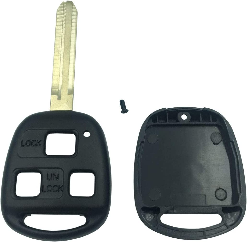 3 Button Replacement Keyless Entry Remote Control Key Fob Case Fit For Key Fob Shell Cover No Chip