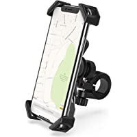 Lamicall Handyhalterung Fahrrad, Edelstahl Handyhalter Motorrad : Universal 360 Grad Drehung Outdoor Fahrrad Halter für Phone Xs Max, XR, X, 8, 7, 6S, Samsung S10 S9 S8 S7, Huawei, andere Smartphone