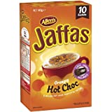 ALLEN'S JAFFAS Orangey Hot Chocolate Drink, Chocolate Shaker Included, 10 Sachets, Total 147g