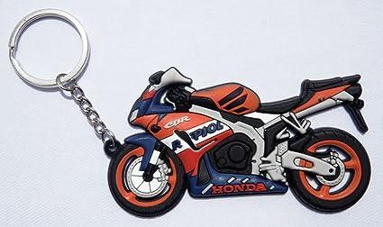 Llavero 3D (goma), diseño de moto Honda CBR: Amazon.es ...