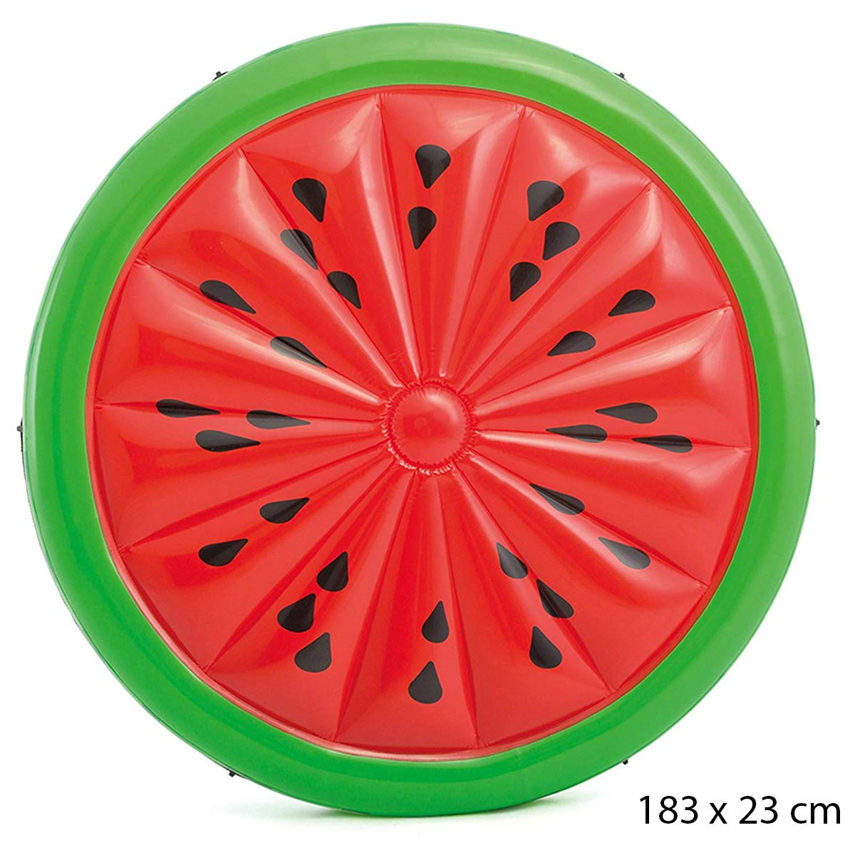 Cisne 2013, S.L. Colchoneta Sandía Hinchable diseño Rojo Adulto ...