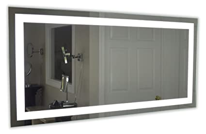 Beau Lighted Vanity Mirror LED MAM86036 Commercial Grade 60u0026quot; ...