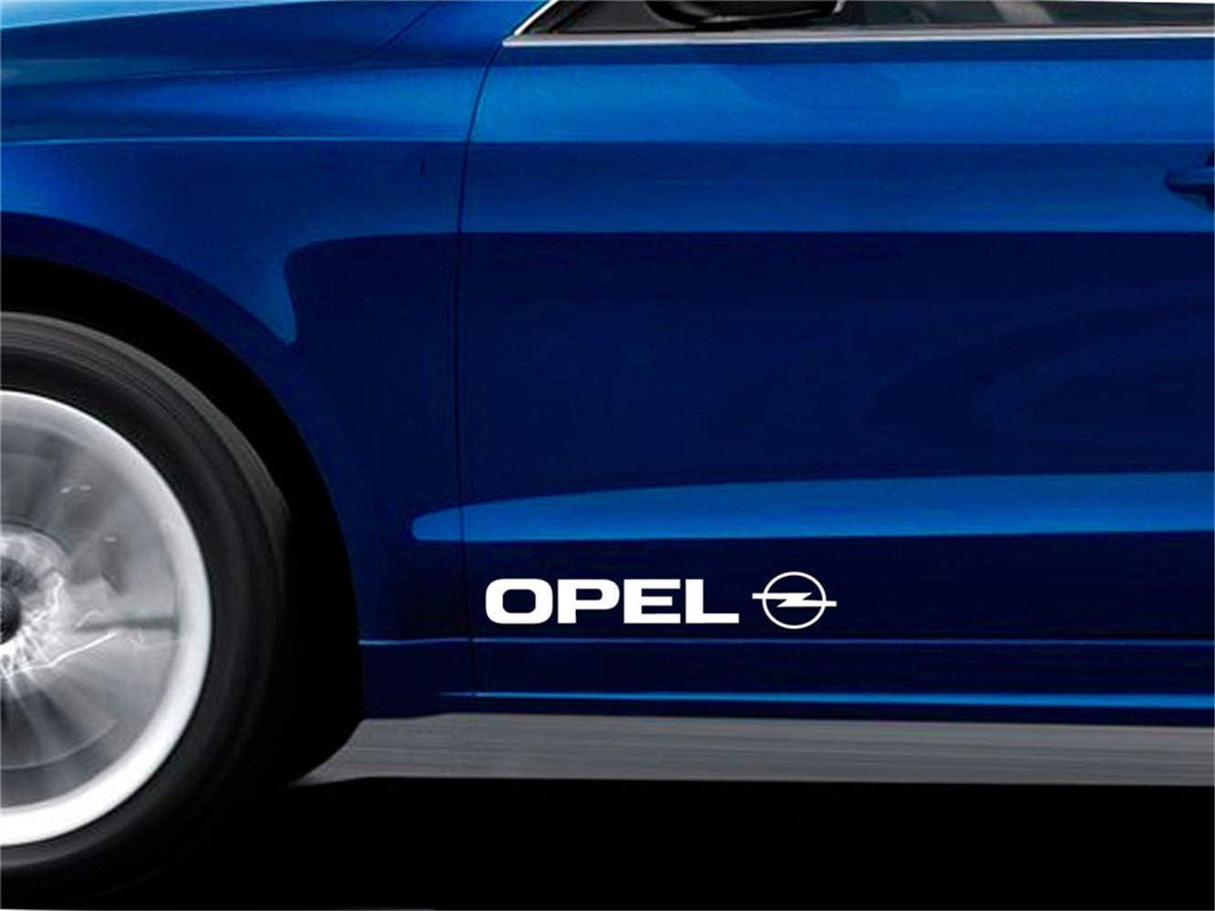 pegatina de pared frases Etiqueta del coche Etiqueta engomada del coche Pegatinas para puertas se adapta a la etiqueta del logotipo de emblema de Opel para etiqueta de coches