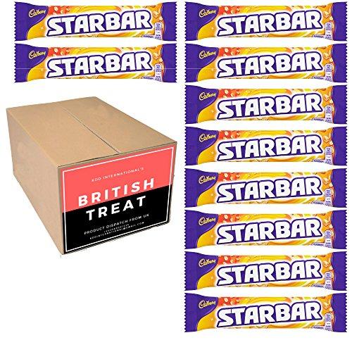 KDD International's Cadbury Chocolates 10 Packs - British Gift - (Starbar  49g)