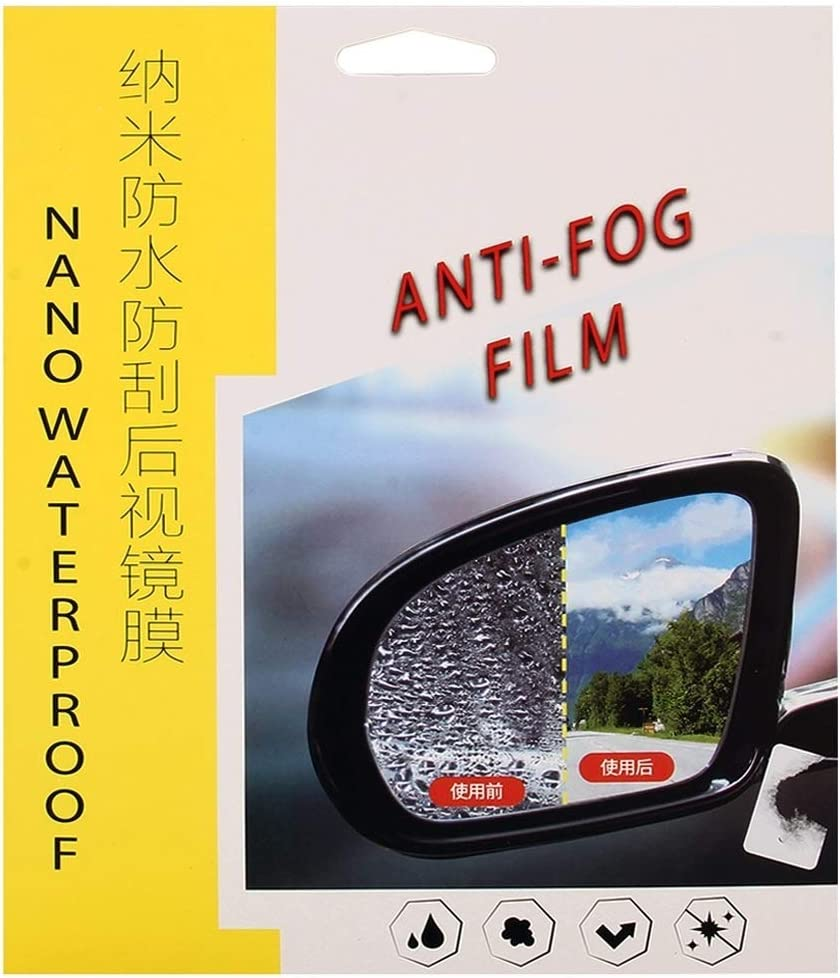 Car rearview mirror protective film Car PET Rearview Mirror Protective Window Clear Anti-fog Waterproof Rain Shield Film For Toyota RAV4 2013-2018 lfq