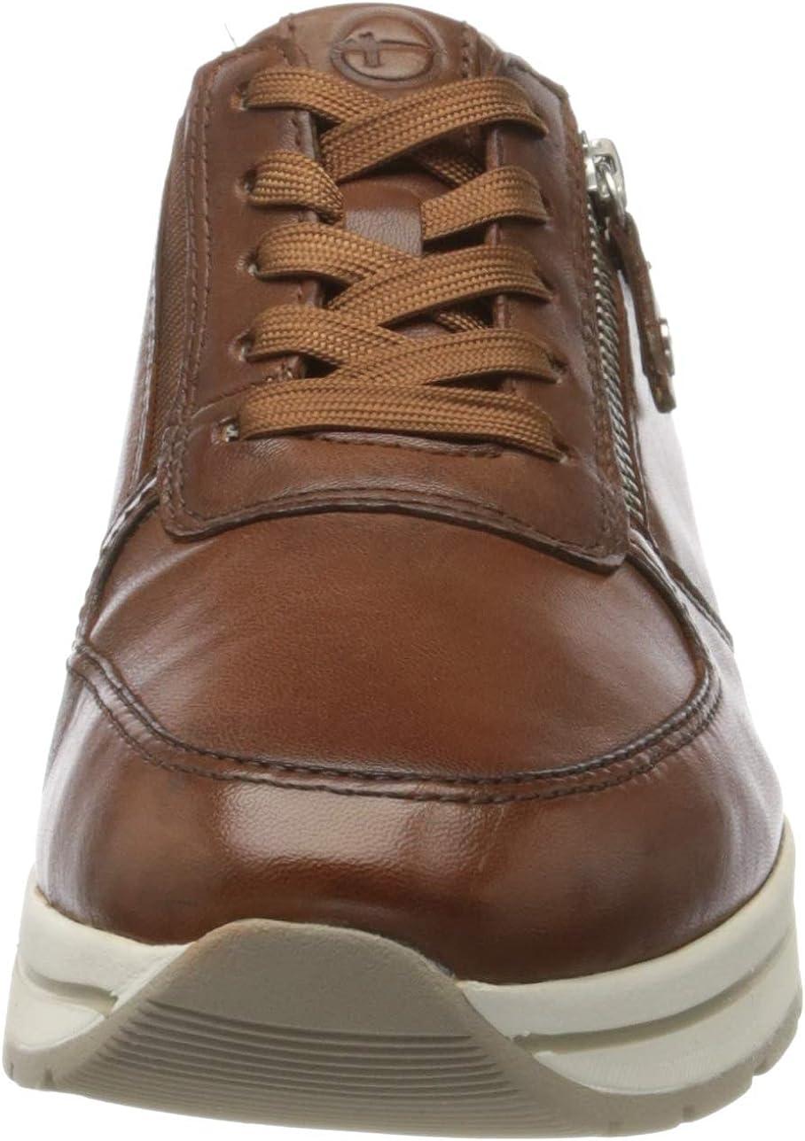 Tamaris 1-1-23740-24, Sneakers Basses Femme Marron Cognac 305