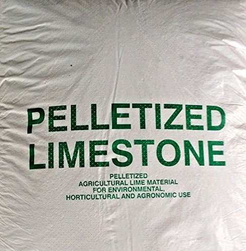 Pelletized Lime, 25lb,More for The Money! Commerial Farm Quality by MW146