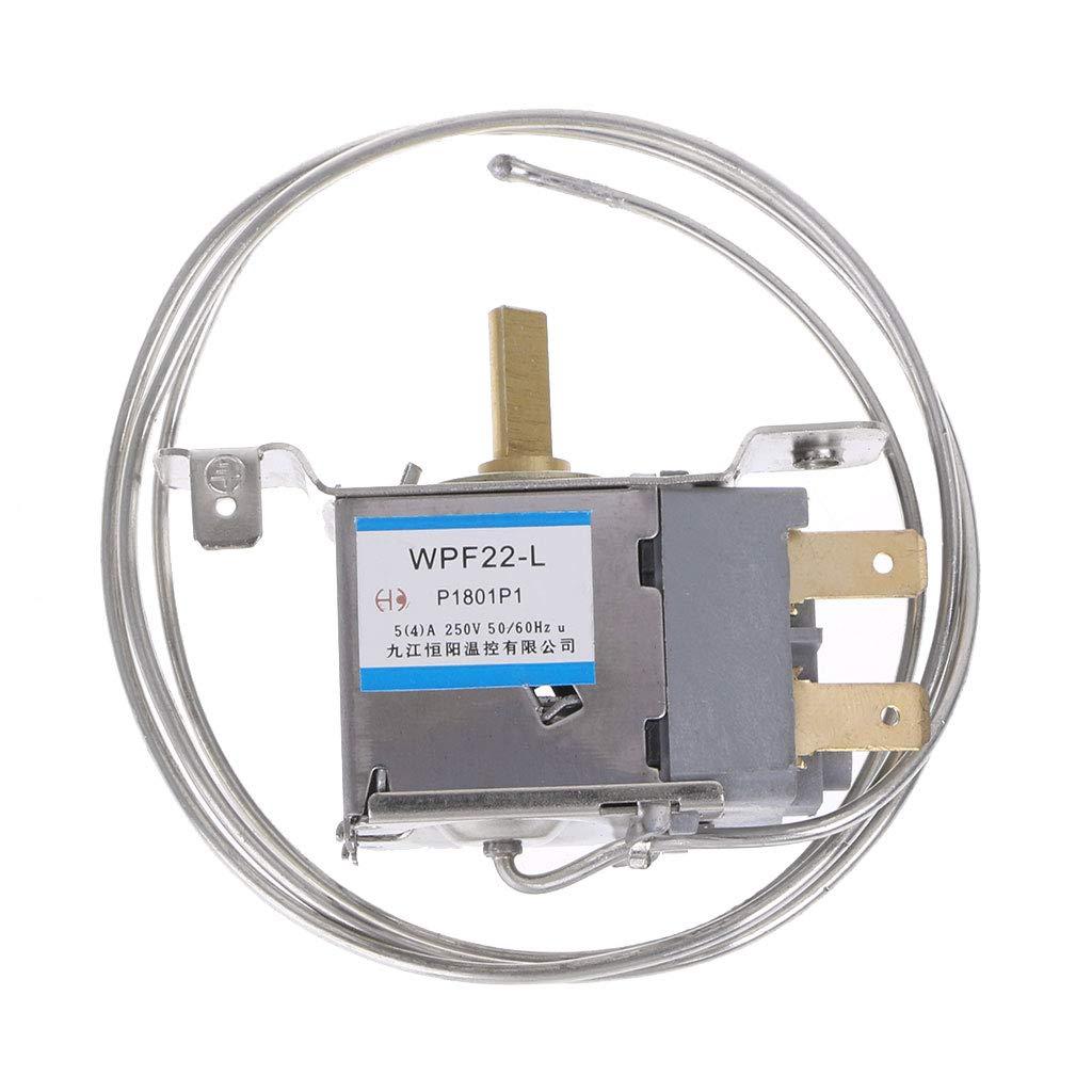 22 Regolatore di Temperatura Domestica in Metallo 4 Termostato per Frigorifero Haorw Kafen WDF