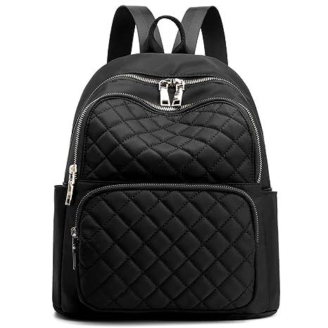 11b4a5c48c2c Travistar Womens Backpacks Purses Waterproof Nylon Anti Theft Fashion Small  Mini Rucksack Lightweight Casual Shoulder Bags Girls School Daypack - ...