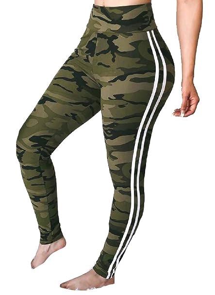 dahuo - Mallas de Yoga para Mujer con Control de Abdomen ...