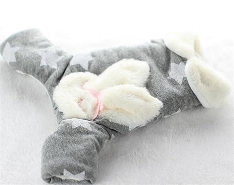 ZHJZ Ropa de Invierno para Gatos y Perros, Suave Pentágono para Mascotas, Diseño de