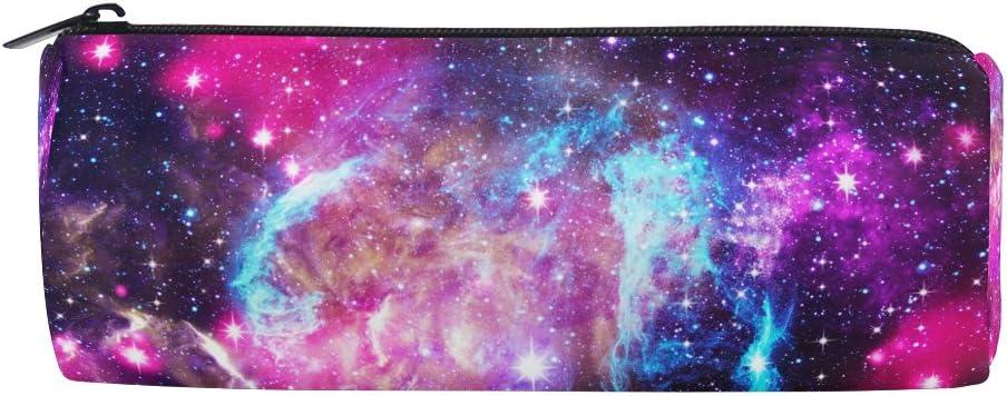 Tizorax Space Galaxy Nebula Starry Trousse Stylo Sac /à fermeture /Éclair pi/èce de monnaie Organiseur Maquillage Cosm/étique Pouch pour femme Teen Filles gar/çons enfants