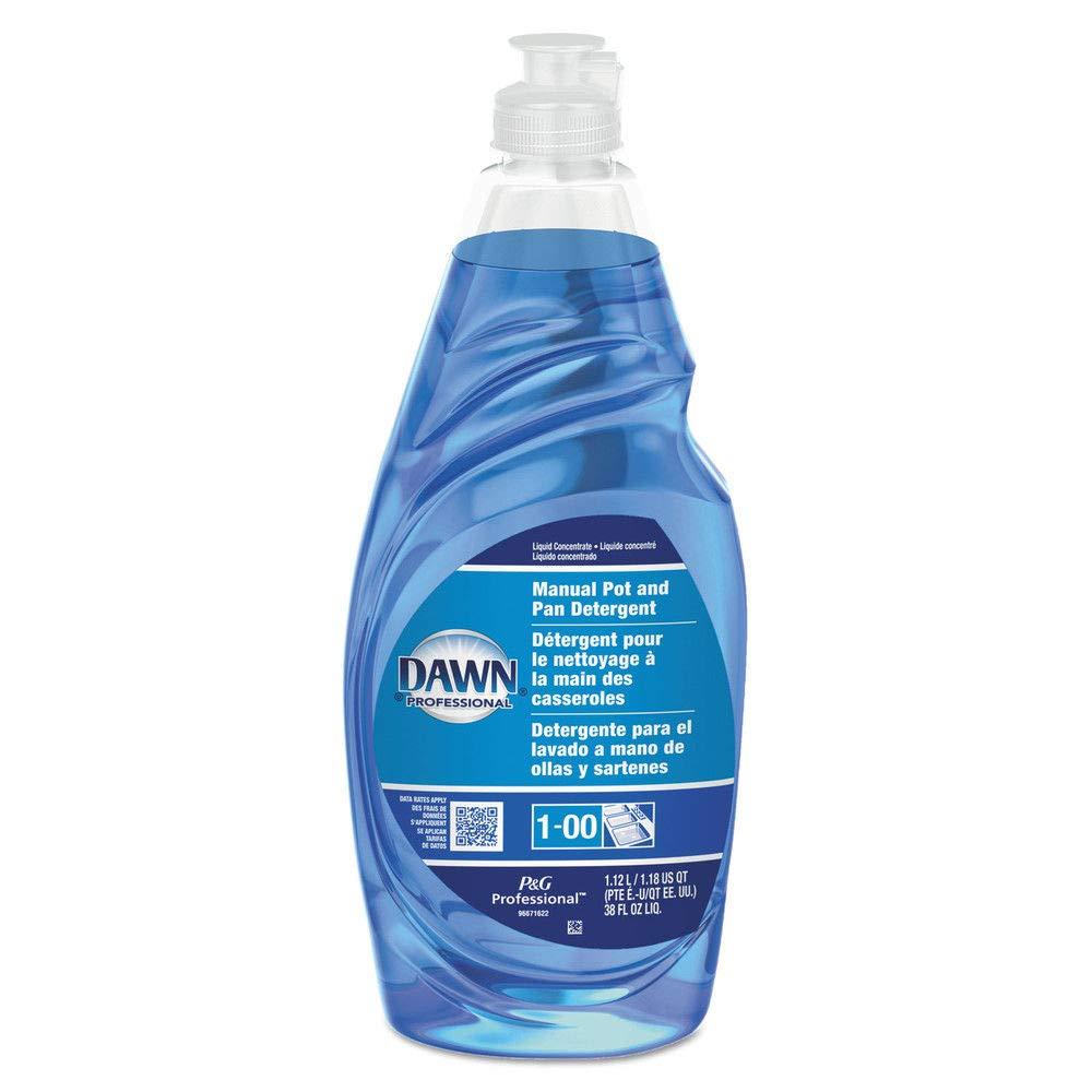 Dawn Professional 45112 Manual Pot & Pan Dish Detergent, 38 Oz Bottle, 8/carton: Amazon.com: Industrial & Scientific