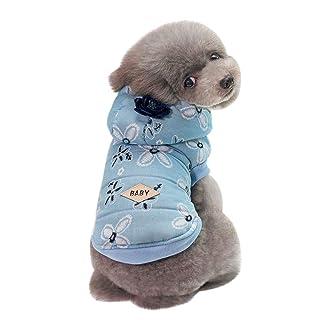Geetobby Christmas Pet Dress Hoddies Dog Cat Winter Warm Coat Costume Apparel Grace Toby