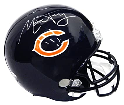 Mitchell Trubisky Autographed Signed Chicago Bears Riddell Full-Size  Replica Helmet - Authentic Signature 7f6c4d8aa
