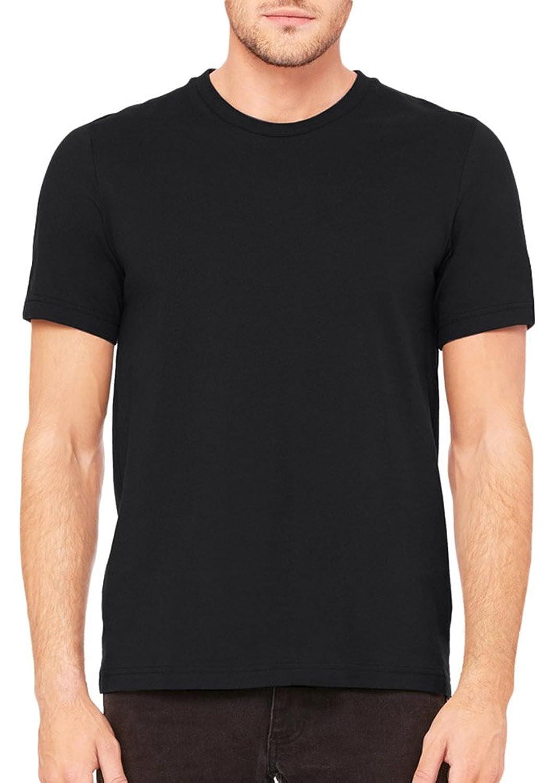 6b273a87 Bella + Canvas Unisex Heavyweight 5.5 oz. Crew T-Shirt (3091) BLACK |  Amazon.com