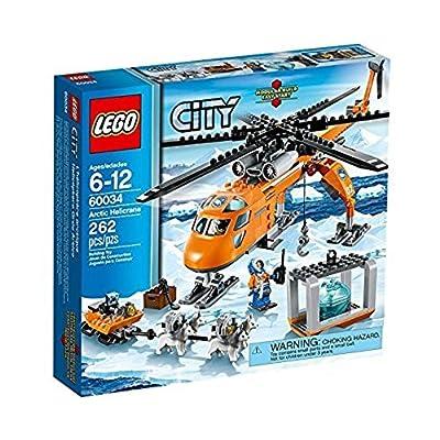 LEGO City 60034: Arctic Helicrane: Toys & Games