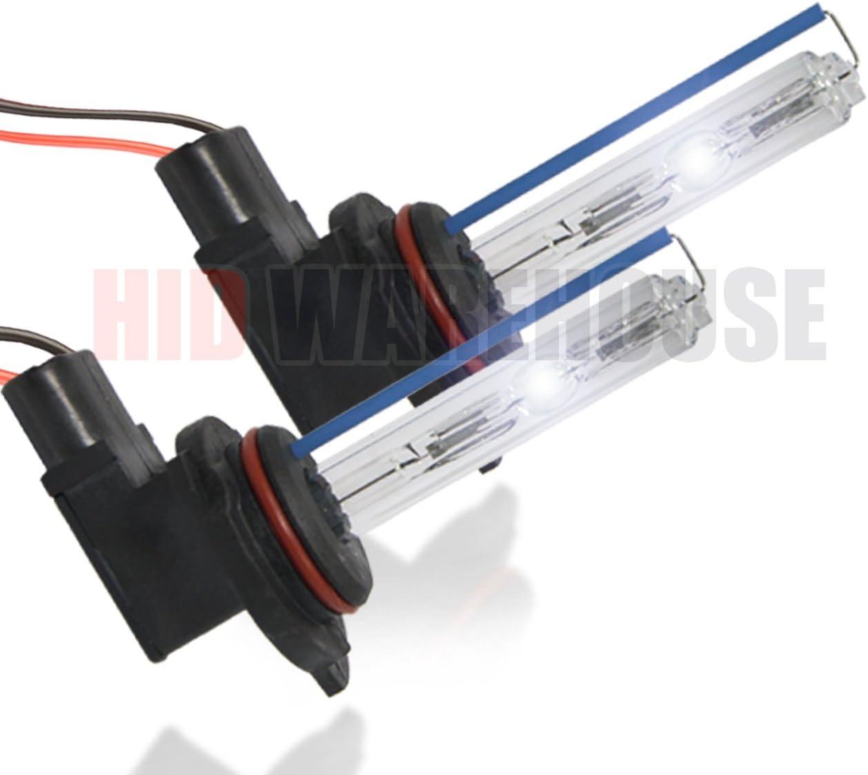 2 Year Warranty 9006 4300K HID-Warehouse 35W DC Xenon HID Lights with Premium Slim Ballast 43K Bright Daylight