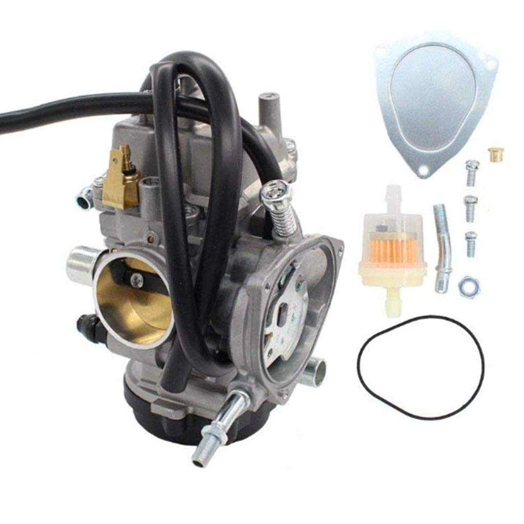 Topker Carburetor Carb Replacement for Bombardier/Can-am Outlander Max 400 4X4 2004-2008 AR1487CA154RA