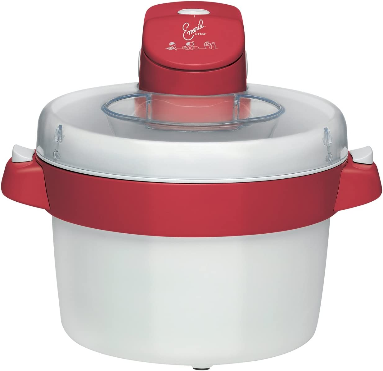 Emeril by T-fal IG5025 Ice-Cream Maker, 1.8 Quart, White