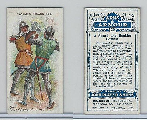 P72-15 Player, Arms & Armour, 1909, 29 Sword & Buckler Combat (Players Combat)
