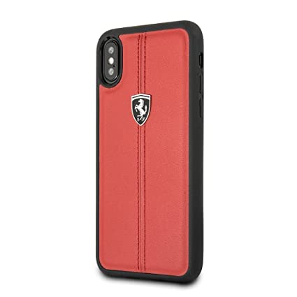 uk availability a3e67 f4b41 CG Mobile Ferrari Leather Back Cover with Easily: Amazon.in: Electronics