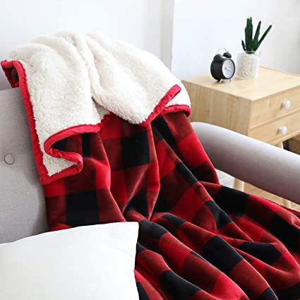 Home Décor Christmas Large Warm Sofa Fleece Throw Colourful Presents Soft Bed Blanket To Assure Years Of Trouble-Free Service Afghans & Throw Blankets