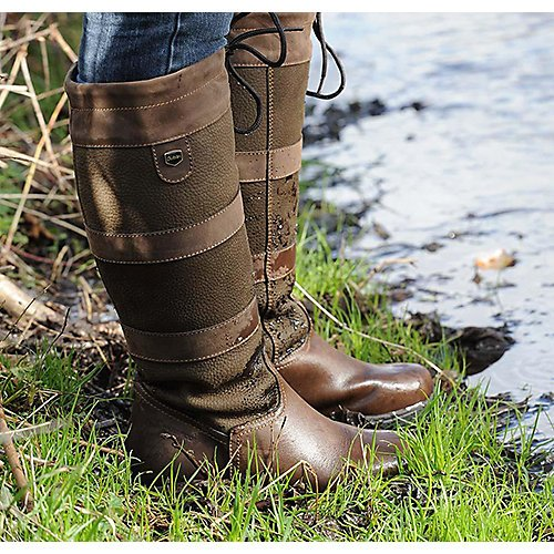 River Chocolate (Dublin Ladies River Boots II Chocolate 8.5)