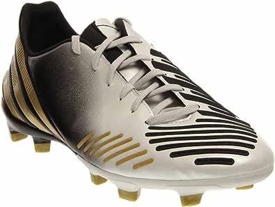 adidas Predator Absolion LZ TRX FG - Zapatillas de fútbol para Hombre, Color Blanco y Dorado
