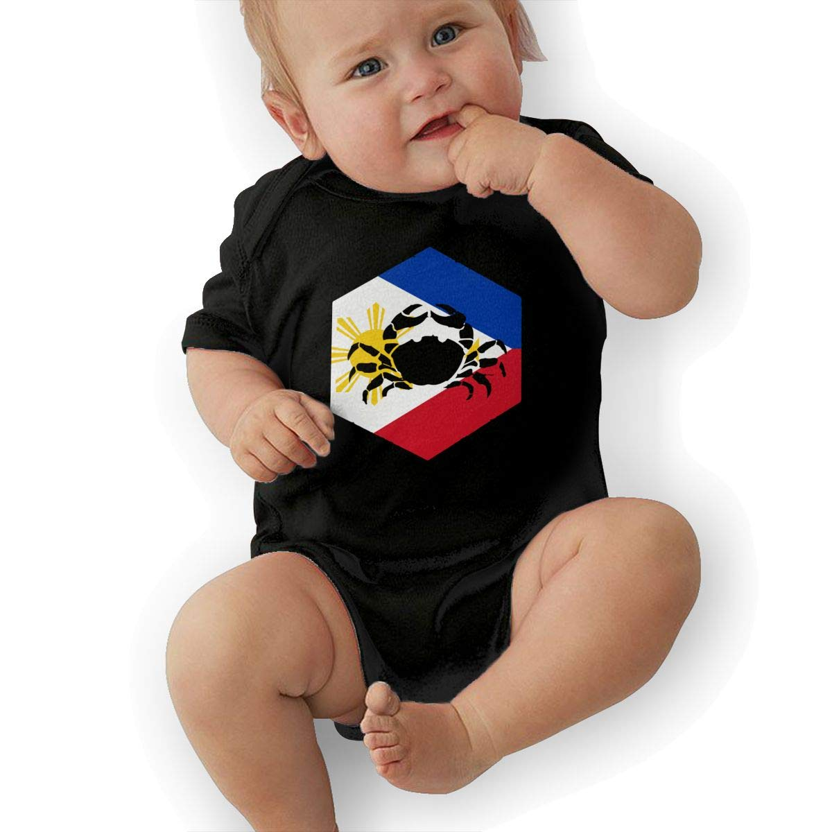 Suit 6-24 Months Black TAOHJS97 Baby Girls Cancer Philippines Short Sleeve Climbing Clothes Pajamas Sleepwear